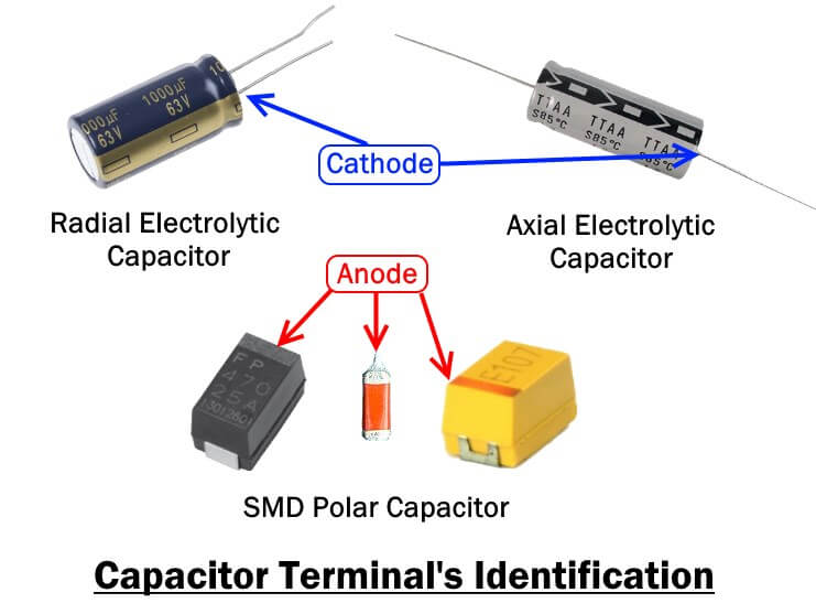 Capacitor Terminals Identification