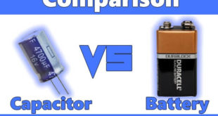Differences Between Capacitor & Battery