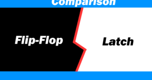 Comparison Between Latch & Flip-Flop