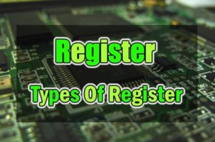 Register & Types Of Register