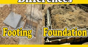 Difference Between Footing & Foundation
