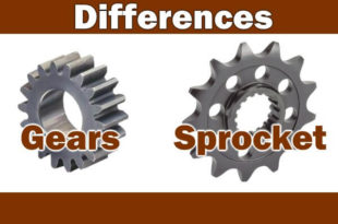 Differences Between Gear & Sprocket