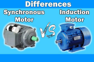Differences Between Synchronous & Induction Motor