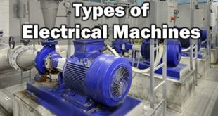Types of Electrical Machines